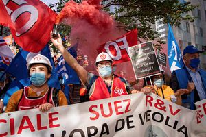 Projet d'OPA de Véolia sur Suez : FO soutient les salariés qui bataillent pour leur emploi