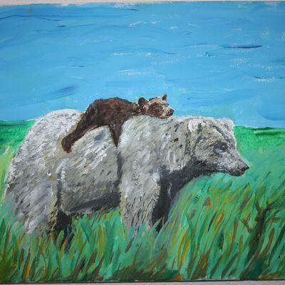Peinture du Latgale et d'ailleurs