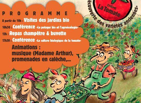 Dimanche 24 Juillet 2016 Fête des jardins familiaux bio à Saint Hilaire de Brethmas