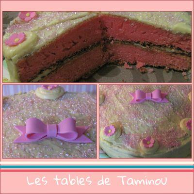 Gâteau gourmand pour Alexia......