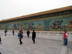 CHINE: arrivée à Pekin