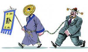 Chinas lokale Beamte glauben an Beförderung mittels Fengshui