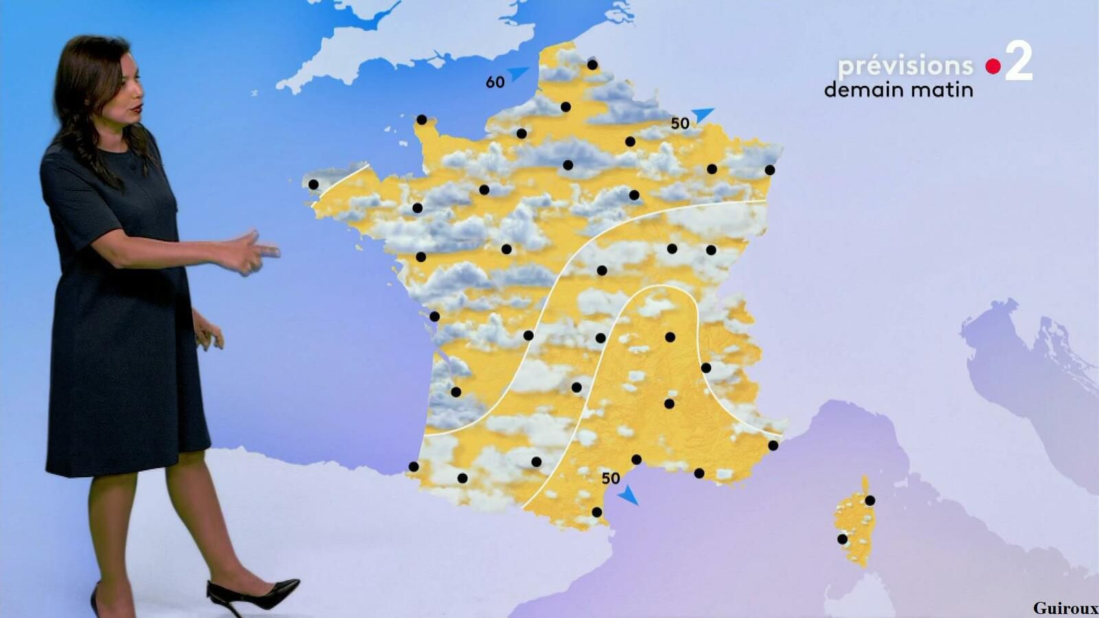 Anaïs Baydemir 28/07/2021 Journaux météo du soir