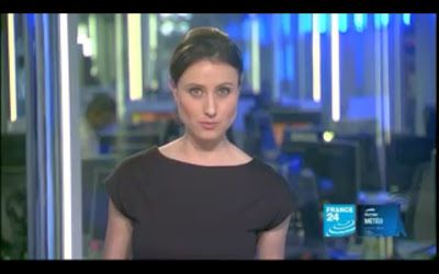 2012 04 03 @23H00 - AUDE LECHRIST, FRANCE 24, PARIS DIRECT