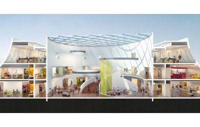 Ouverture au Havre de la Bibliothèque Niemeyer / ACTUALITE. INFO / LE HAVRE. NORMANDIE