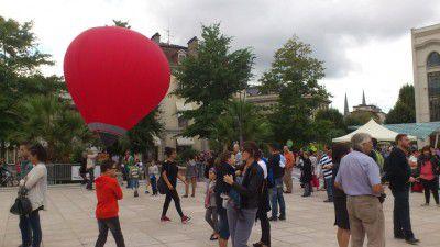 Fabriquer mini montgolfiere
