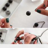 DIY! The Most Beautiful NECKLACE - Do It Yourself Ideas
