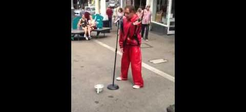 Falmouth's finest street act !