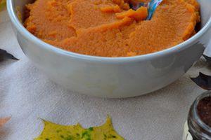 Purée de courge {base pour recettes type pumpkin pie, pumpkin spice latte...}