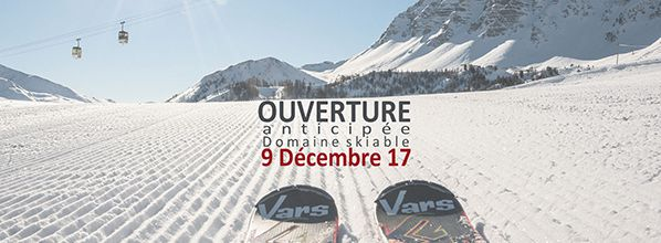 Vars : La station se prépare pour accueillir les 1ers skieurs le 9 décembre !