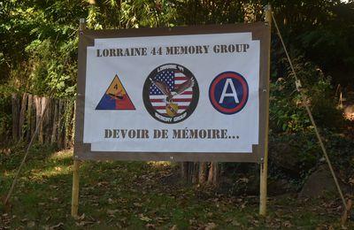 18 septembre 2021 - Journée du Patrimoine - Creutzwald - Lorraine 44 Memory Group  -