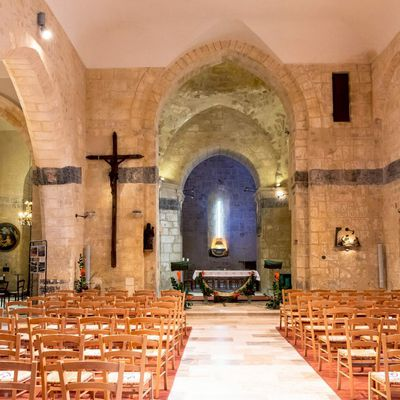 Sorges en Périgord, capitale de la truffe noire et l'Eglise romane Saint-Germain d'Auxerre