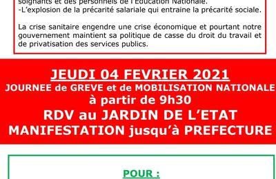 Mobilisation du 04/02/2021