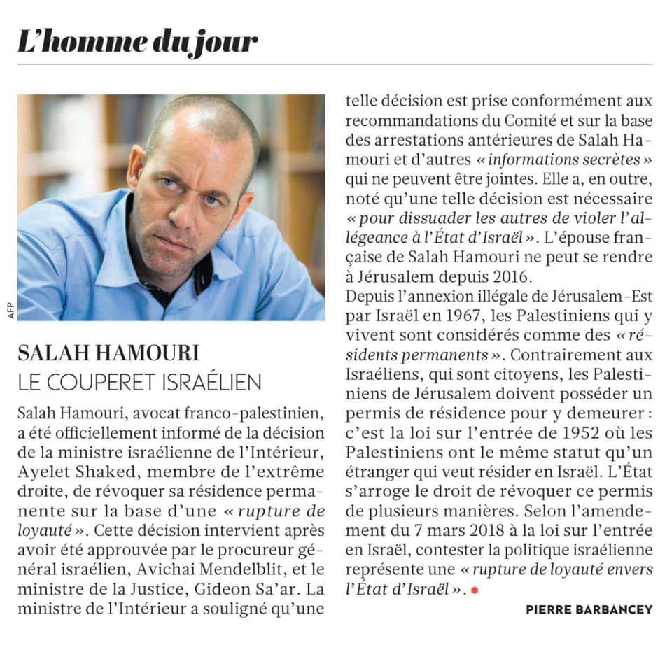 Article de Pierre Barbancey dans l'Humanité