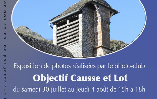 Exposition de photos à La Chapelle de Calmont