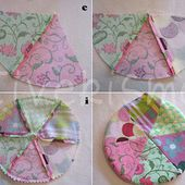 Patchwork Pincushion Tutorial ~ Regina Lord of Creative Kismet