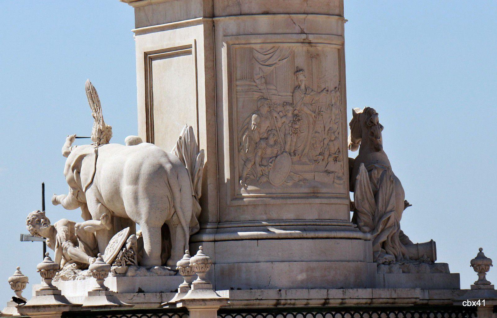 Statue équestre de Joseph 1er de Portugal, Lisbonne