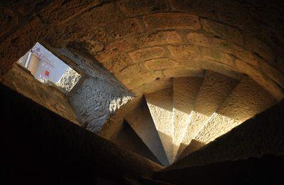 Les escaliers de Quéribus