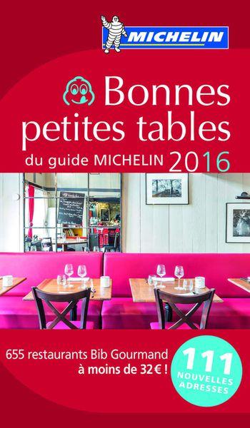 Michelin 2016 : 111 nouveaux Bibs !