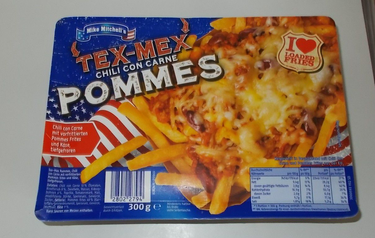 Penny Mike Mitchell's Tex-Mex Chili con Carne Pommes