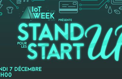 Marketing Event : la semaine IoT Week, du 7 au 13 décembre 2020
