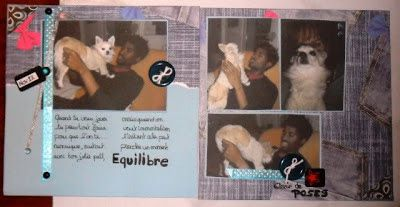 pages de scrap eden