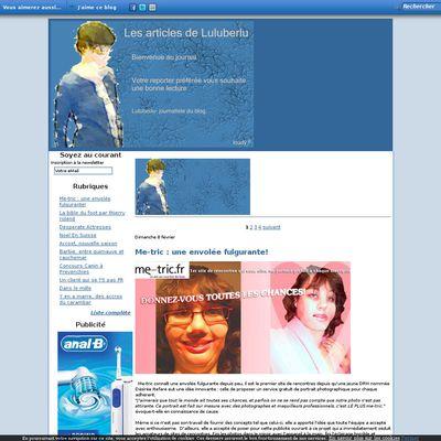 Les articles de Luluberlu