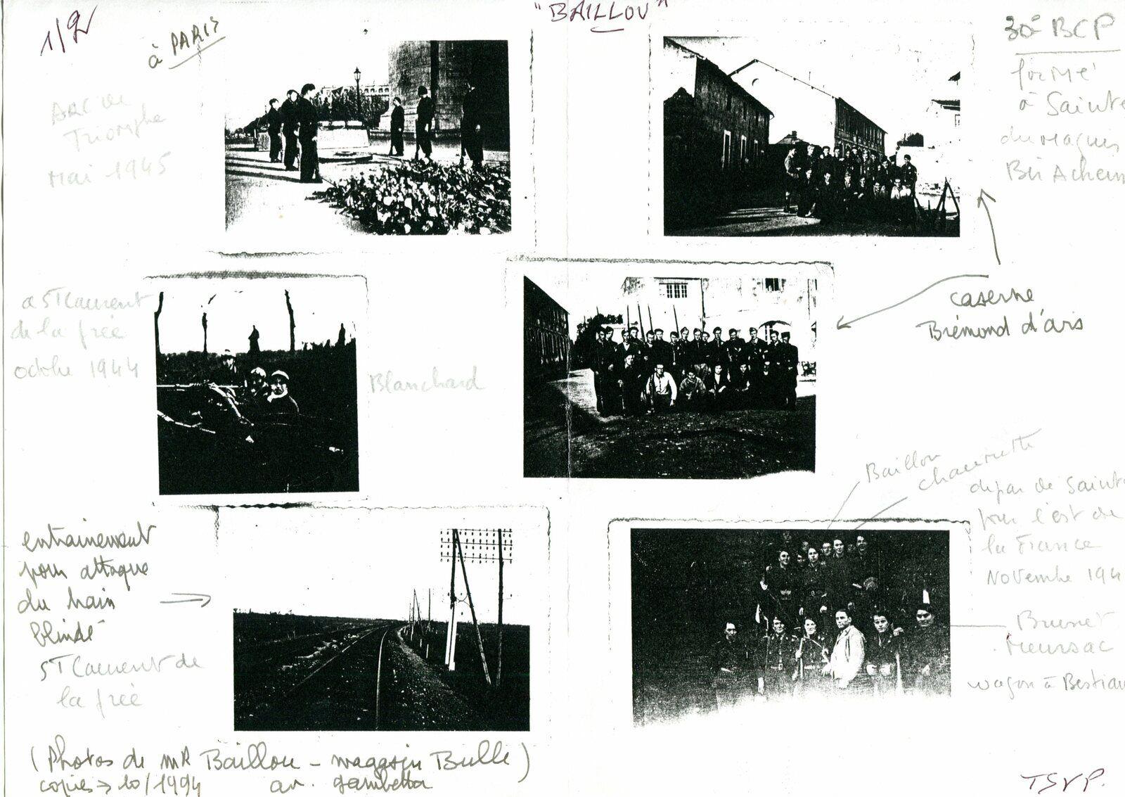 """Le policier de Saintes tué par une bombe. La guerre du Saintais Georges Baillou. Le soldat allemand de la """" Luftwaffe """", prisonnier à Toulouse, qui a fini sa vie à Saintes. Bombardement de Saintes, la cloche abri depuis le triage (Saintes) à la gare de Beillant...."""