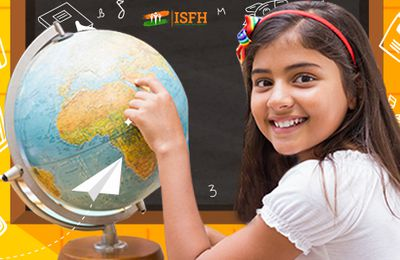 ISFH is on a mission to bestow quality education to the underprivileged children
