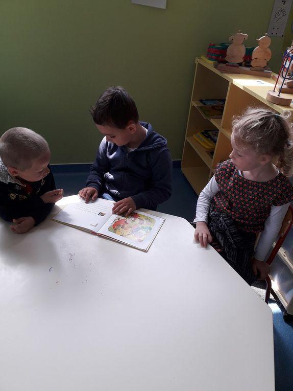 Lecture des CP CE2 aux petits