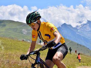La selection PACA au sommet de l'Alpe d'Huez au TFJV