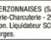 La boucherie-charcuterie de Villages (près du Crédit Agricole) est en liquidation judiciaire - Vierzonitude