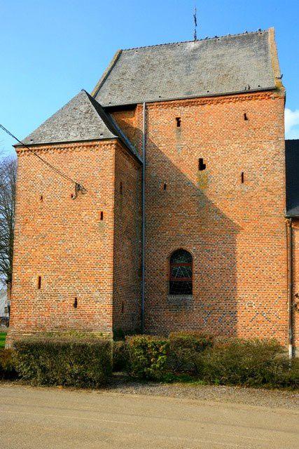 Diaporama église fortifiée de Jeantes