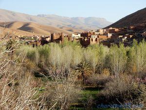 RR704 Gorges du Dadès (Maroc en camping-car)