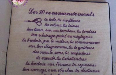 Les 10 commandements finitionné !