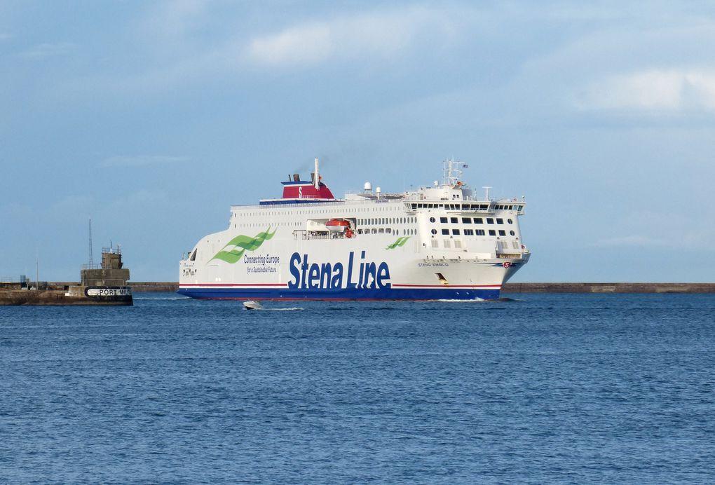 Le Stena Embla est le dernier entré en flotte de Stena. Photos Quentin Lepetit