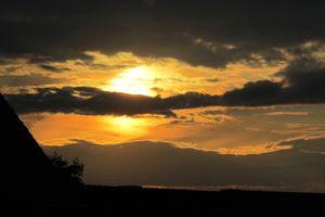 Sonnenuntergangsspektakel