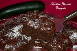 Moelleux Chocolat Courgette
