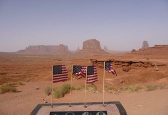 USA 2008 - part 14 – 4x4, wind and Monument Valley !