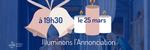 CONFINEMENT : FÊTE DE L'ANNONCIATION SUR KTO