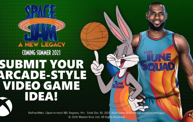 [ACTUALITE] Xbox - Xbox Space Jam: A New Legacy et LeBron James s'associent