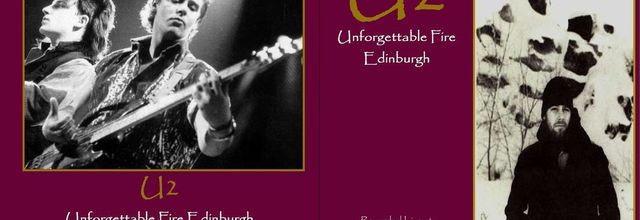 U2 -Unforgettable Fire Tour -05/11/1984 -Edimbourg Ecosse -Edinburgh Playhouse