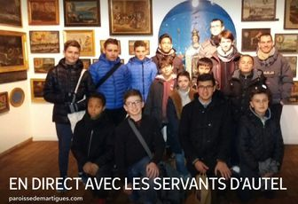 EN DIRECT AVEC LES SERVANTS D'AUTEL