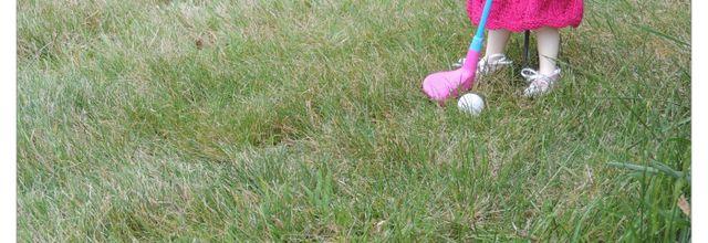 La petite golfeuse