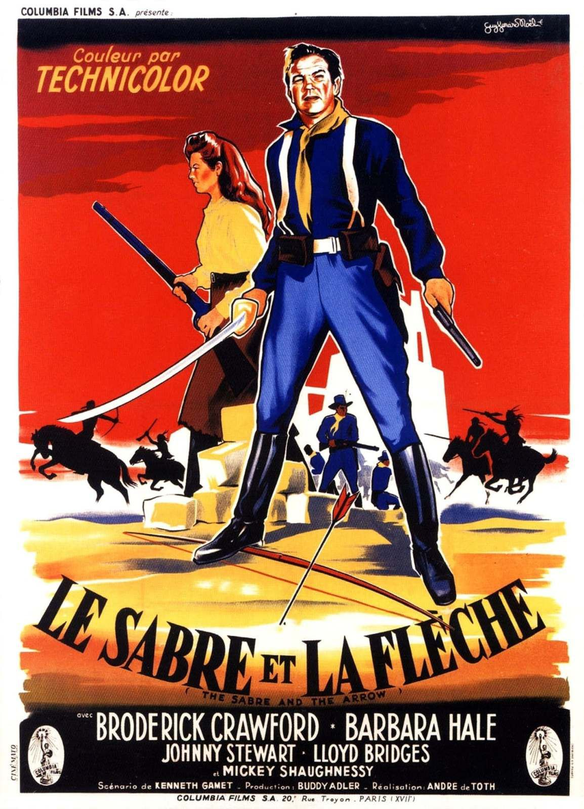 LE SABRE ET LA FLECHE (Last of the Comanches)