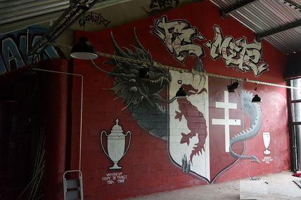 FC-METZ... Les tribunes font peau neuve.