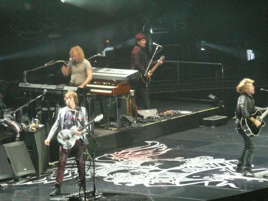 Bon Jovi concert de londres 7 juin 2010 : ouverture des soirées de Londres: Arena O2