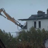 C'est parti, la cité du Bourdoiseau en cours de démolition ! - Vierzonitude
