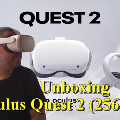 Unboxing  - Le casque VR Oculus Quest 2 (256 Go)