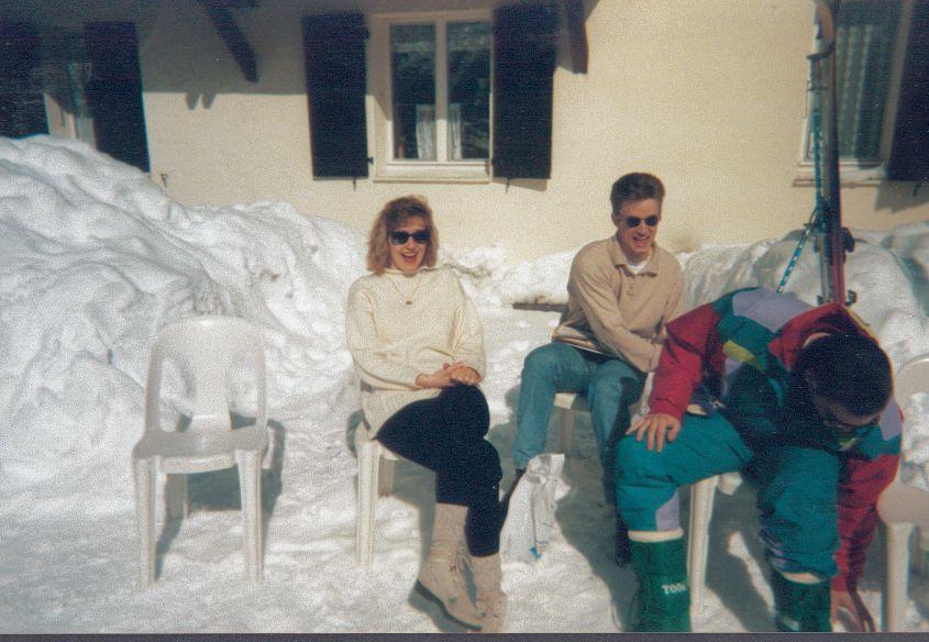 Album - Chantereine, le Comité d'établissement, les sports d'hiver à Crest-Voland (France)